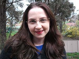Bendigo web designer testimonial review image of Violet