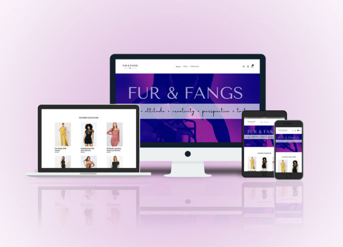 Fur and Fangs website image link