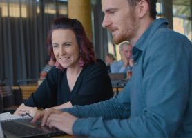 Framemark bendigo web designer image of Nathan Marks and Kate Muldoon